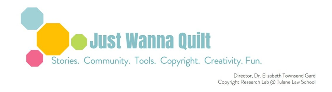 Just Wanna Quilt - Cover Image