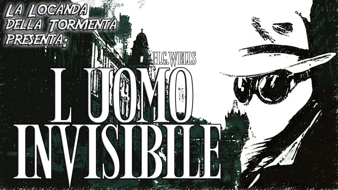 Audiolibri L Uomo invisibile - H.G.Wells - immagine di copertina