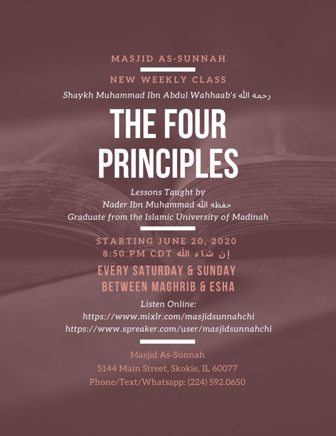The Four Principles - Cover Image
