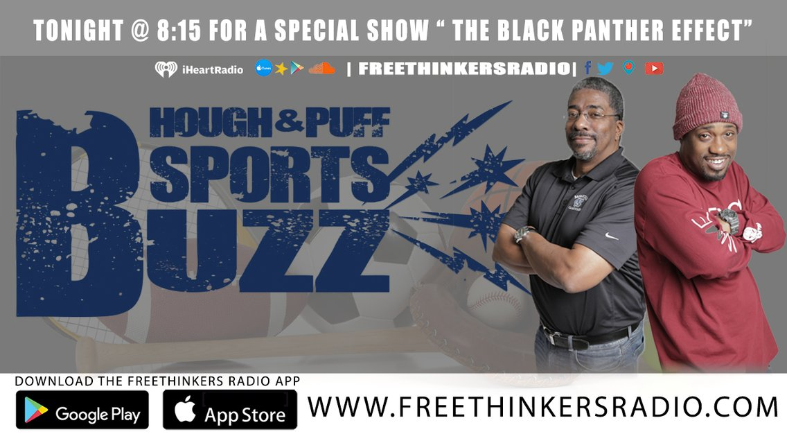 The Hough and Puff Sports Buzz - Cover Image