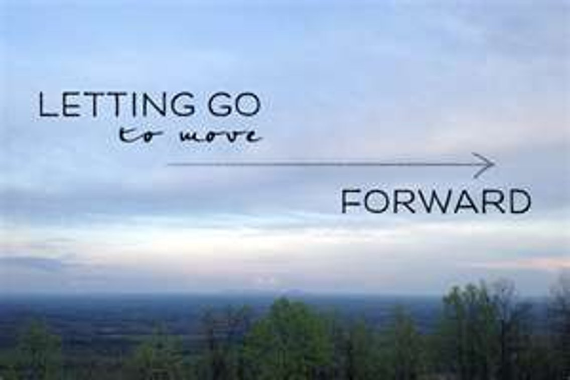 Letting Go For Your Good - Cover Image