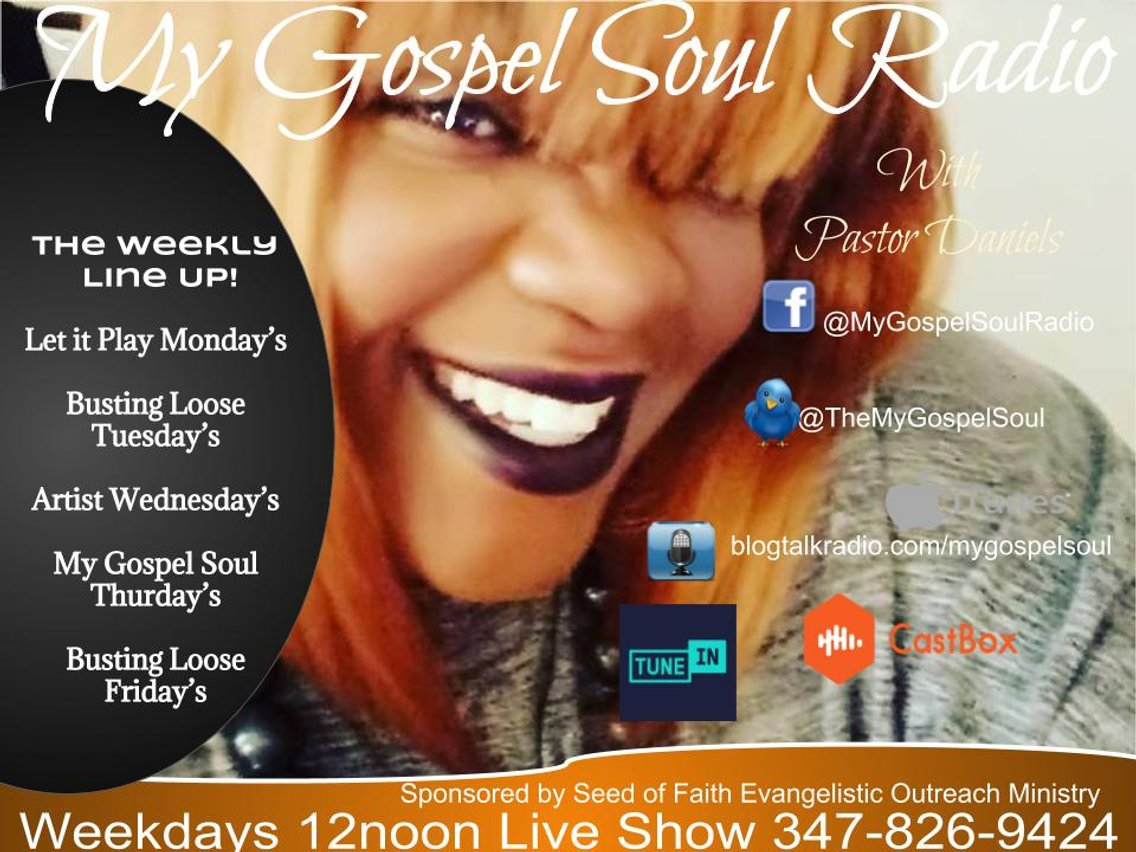 My Gospel Soul Radio - Cover Image