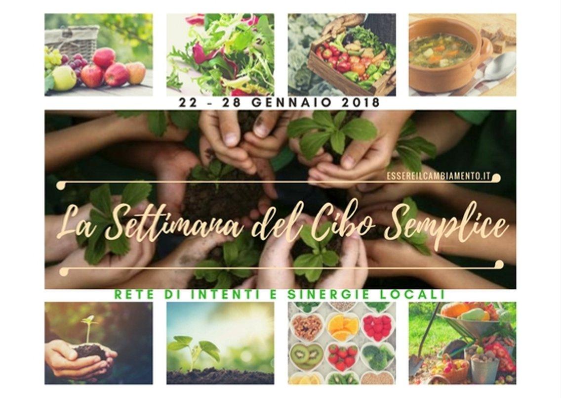 La Settimana del Cibo Semplice - Cover Image