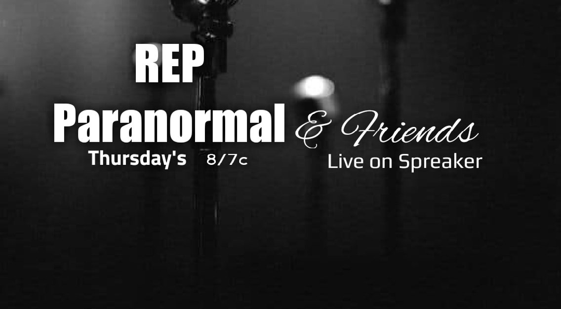 REP Paranormal and Friends - Cover Image