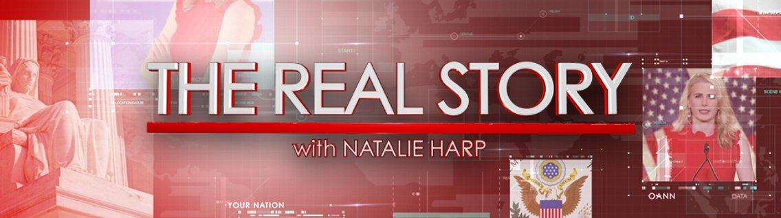 The Real Story with Natalie Harp - immagine di copertina