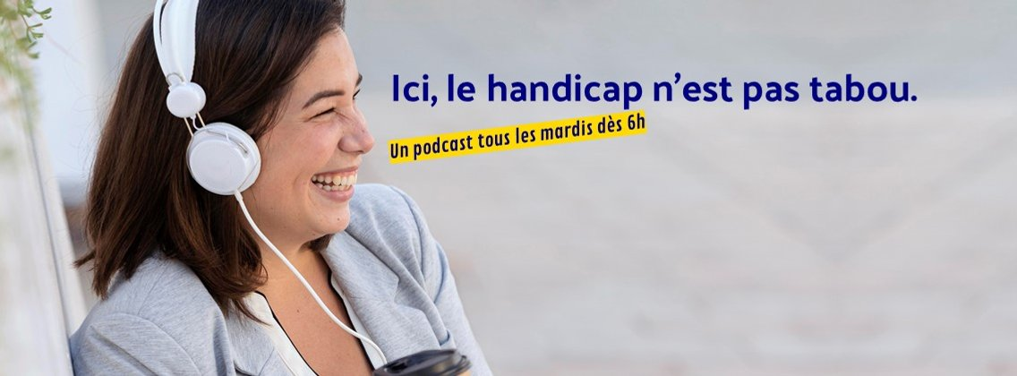 Les Blablas d'AndyCaptain - Osons parler du handicap ! - imagen de portada