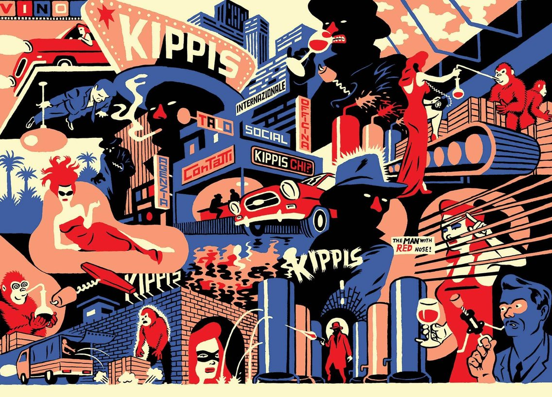 This is Radio Kippis - Cover Image