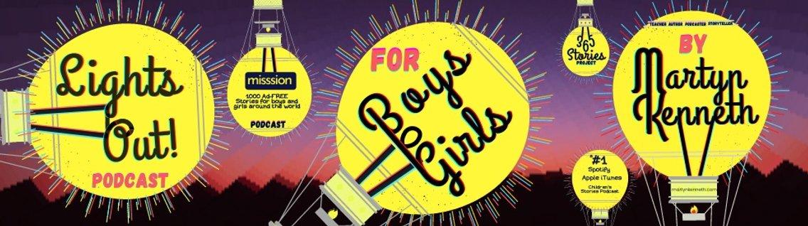 Lights Out Bedtime Stories for Boys and Girls - imagen de portada
