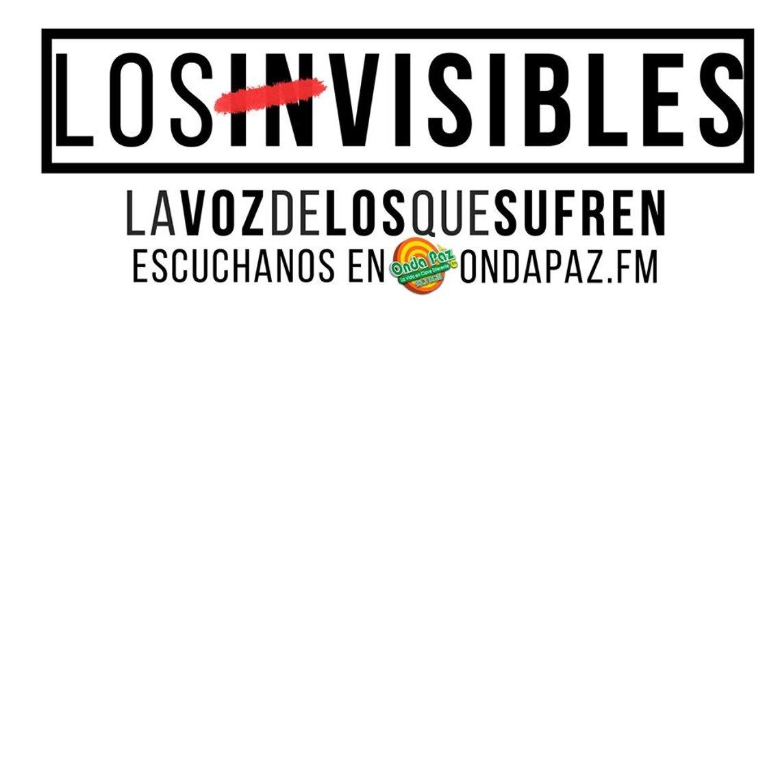 LOS INVISIBLES - imagen de portada