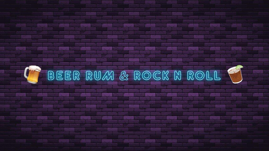 BEER RUM & ROCK N ROLL - Cover Image