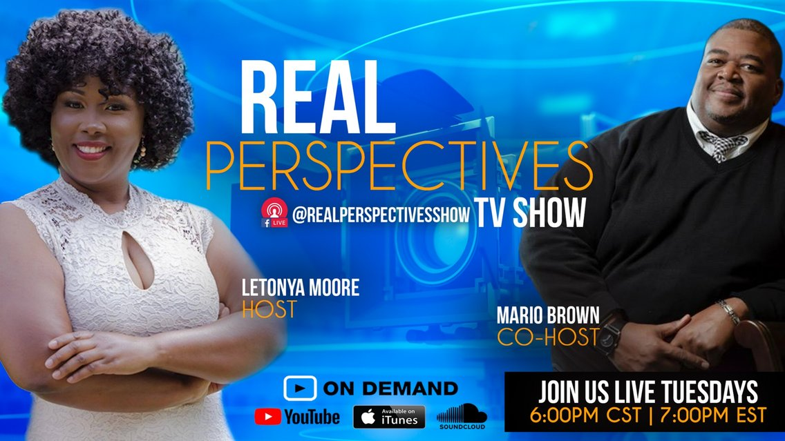 Real Perspectives - Cover Image