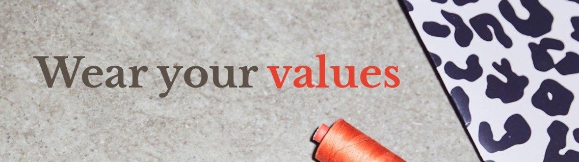 Wear your values - immagine di copertina