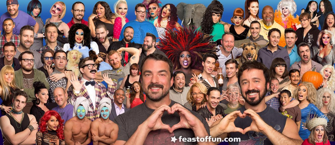 Feast of Fun: Gay Talk Show - imagen de portada