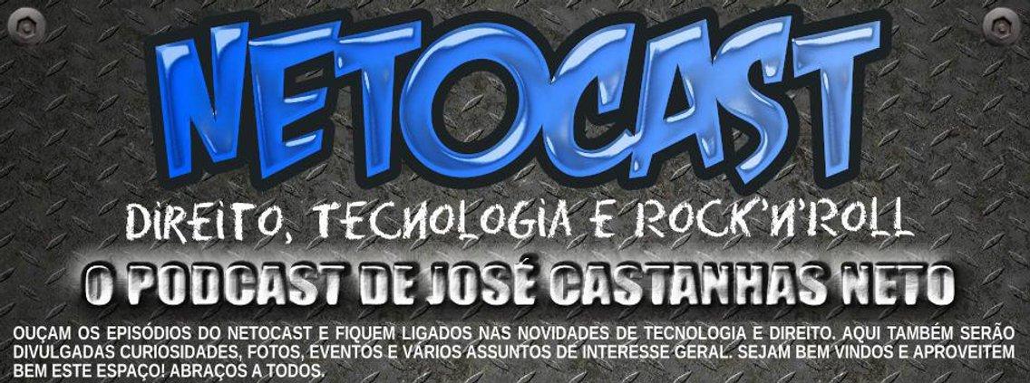 NETOCAST (Podcast - José Castanhas Neto) - Cover Image