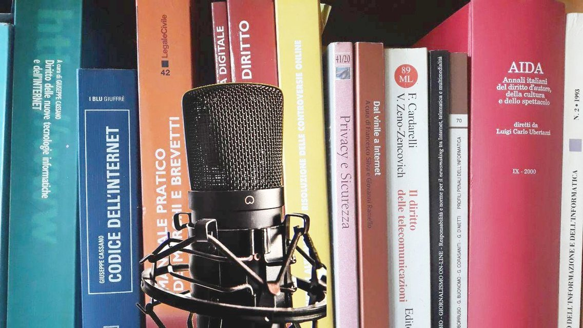 Diritto e web per Influencer, Youtuber e Podcaster - Cover Image
