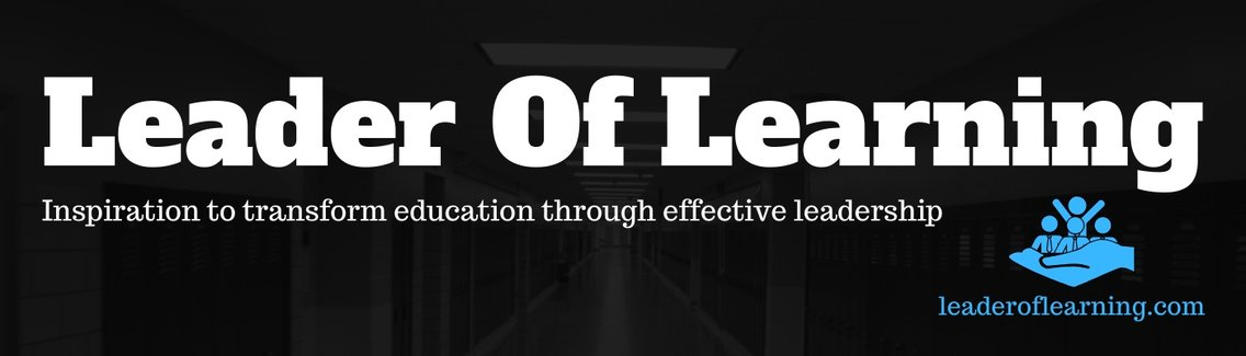 Leader of Learning - Cover Image