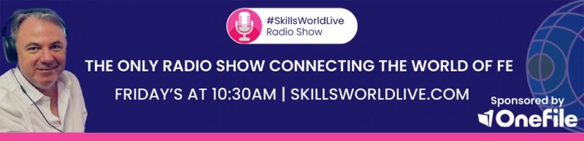 #SkillsWorldLive Radio Show - Cover Image