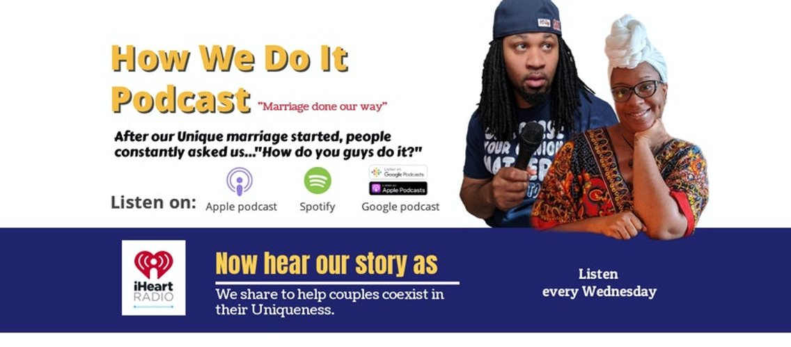 How We Do It Podcast Marriage Done Our Way - Cover Image