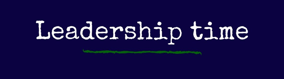 Leadership time - Cover Image