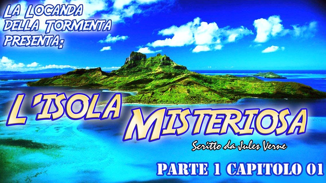 Audiolibro L'Isola Misteriosa - J. Verne - immagine di copertina