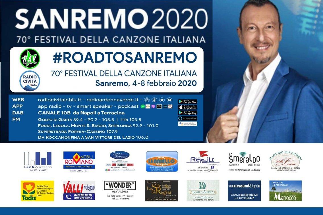 Sanremo 2020 #ontheroad - imagen de portada