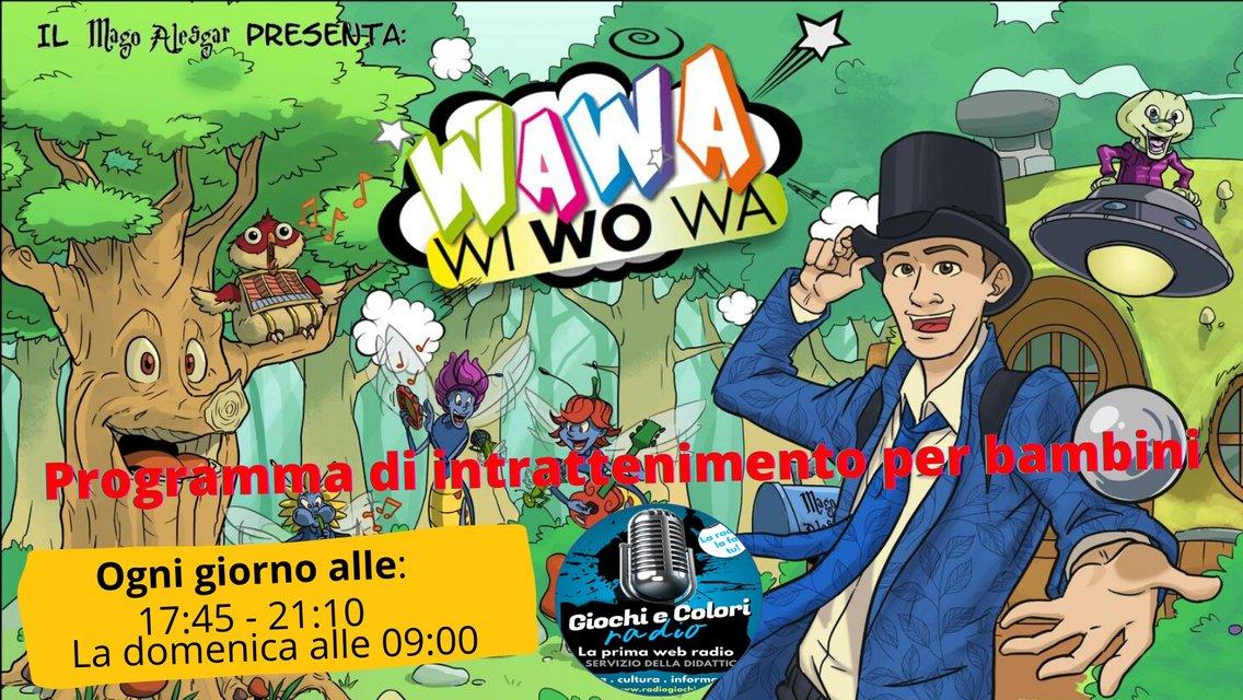 WAWAWIWOWA - INTRATTENIMENTO PER BAMBINI - immagine di copertina