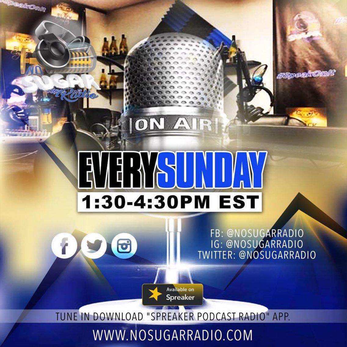No Sugar Radio Show - Cover Image