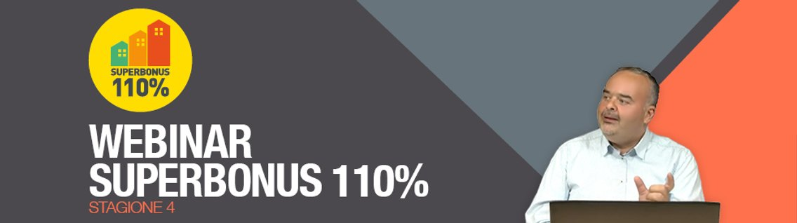 Webinar Superbonus 110% | Stagione 4 - imagen de portada