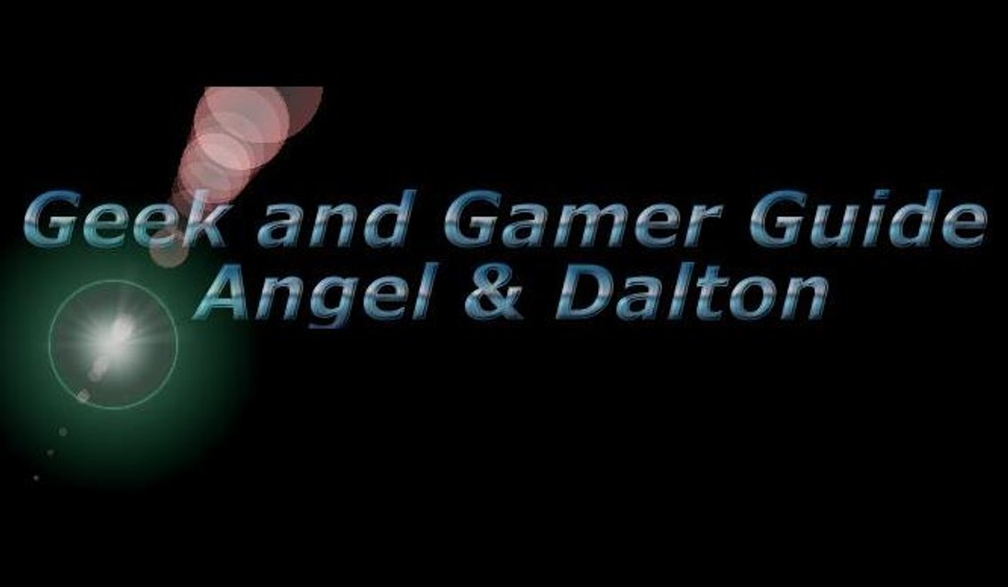 Geek and Gamer Guide - Angel & Dalton - Cover Image