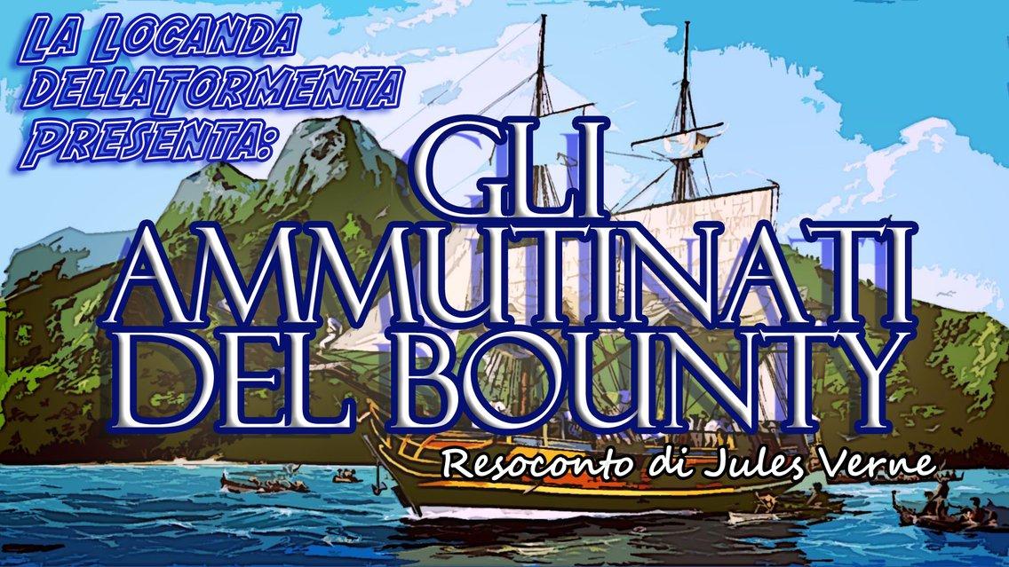 Audiolibro Gli Ammutinati del Bounty - J.Verne - immagine di copertina