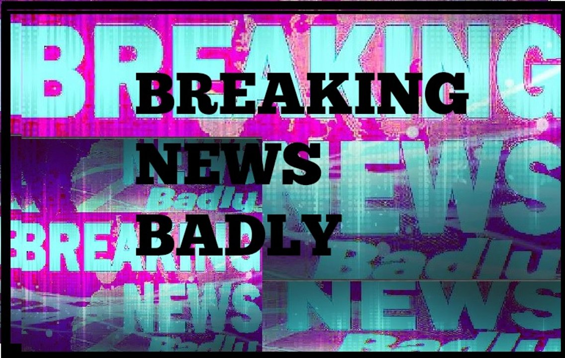 Breaking News Badly - Cover Image