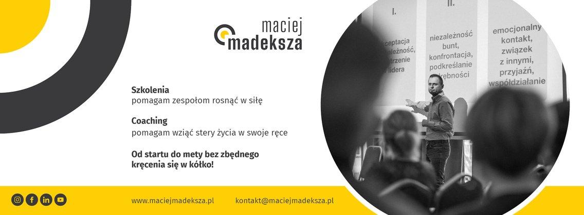 Maciej Madeksza Podcast - Cover Image