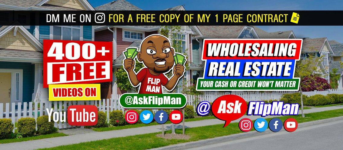 Flip Man's Real Estate Tips - Cover Image