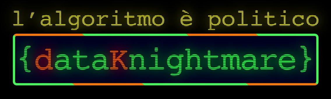 DataKnightmare: L'algoritmico è politico - imagen de portada
