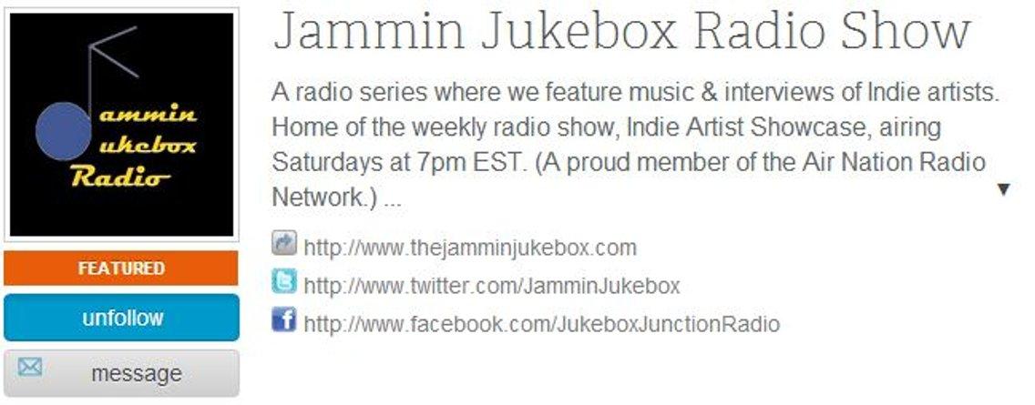 Jammin Jukebox Radio Show - imagen de portada