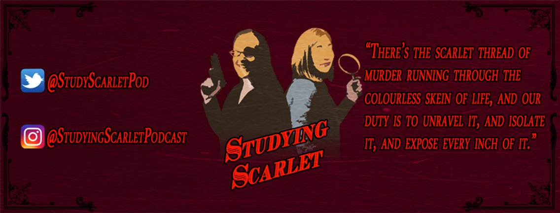 Studying Scarlet - Cover Image