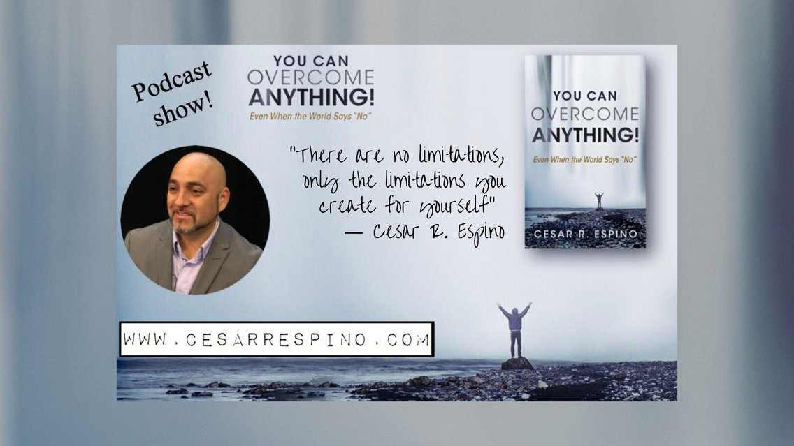 You Can Overcome Anything! Podcast Show - Cover Image