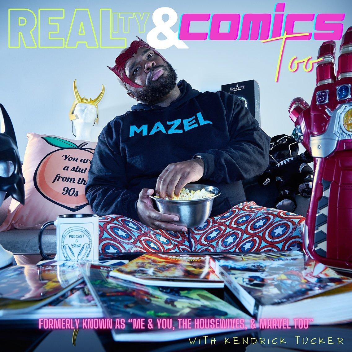 Reality & Comics Too - Cover Image