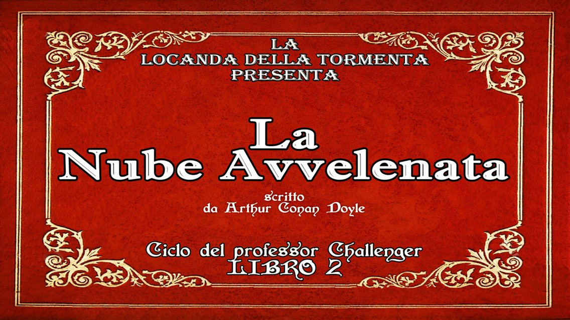 Audiolibro La nube avvelenata - Sir A.C. Doyle - immagine di copertina