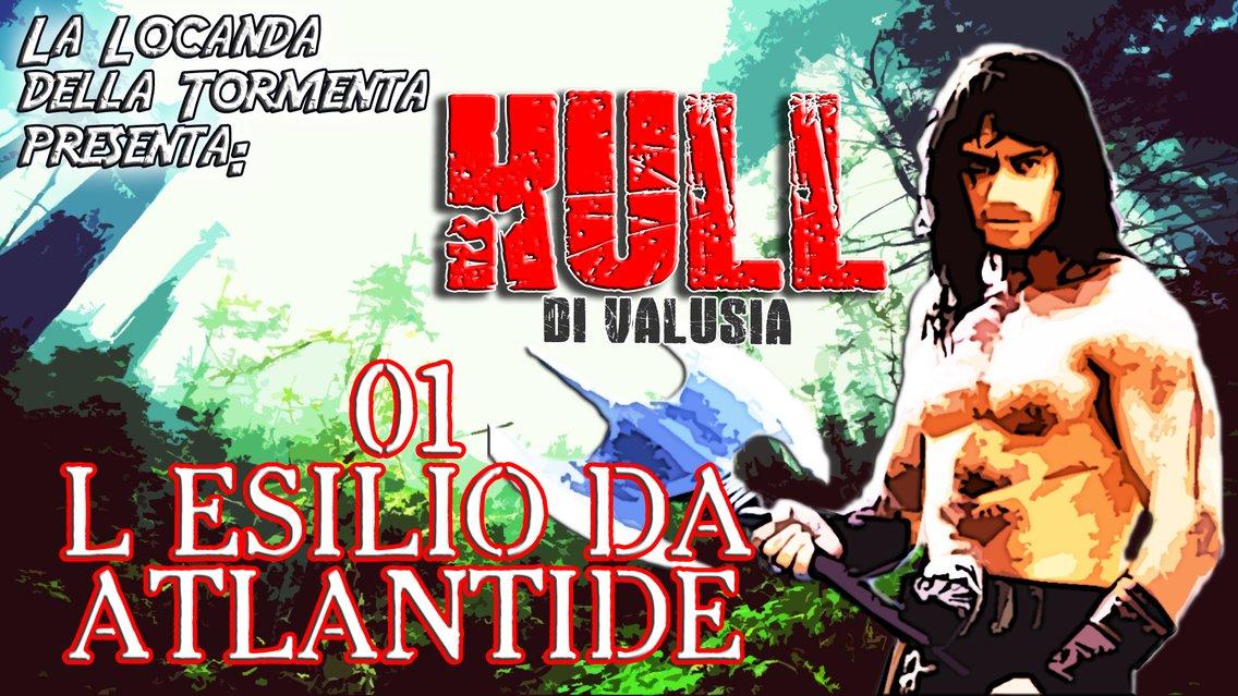 Audiolibro Kull di Valusia - R.E. Howard - immagine di copertina