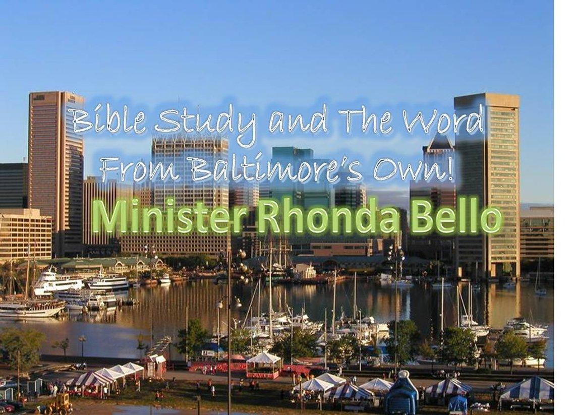Pastor Rhonda Bello - immagine di copertina