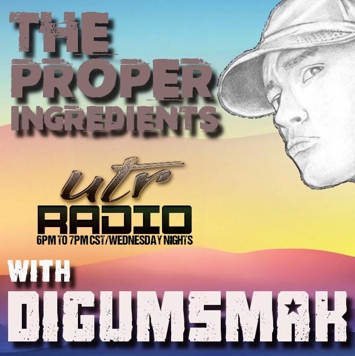 The Proper Ingredients .. UTR Radio - Cover Image