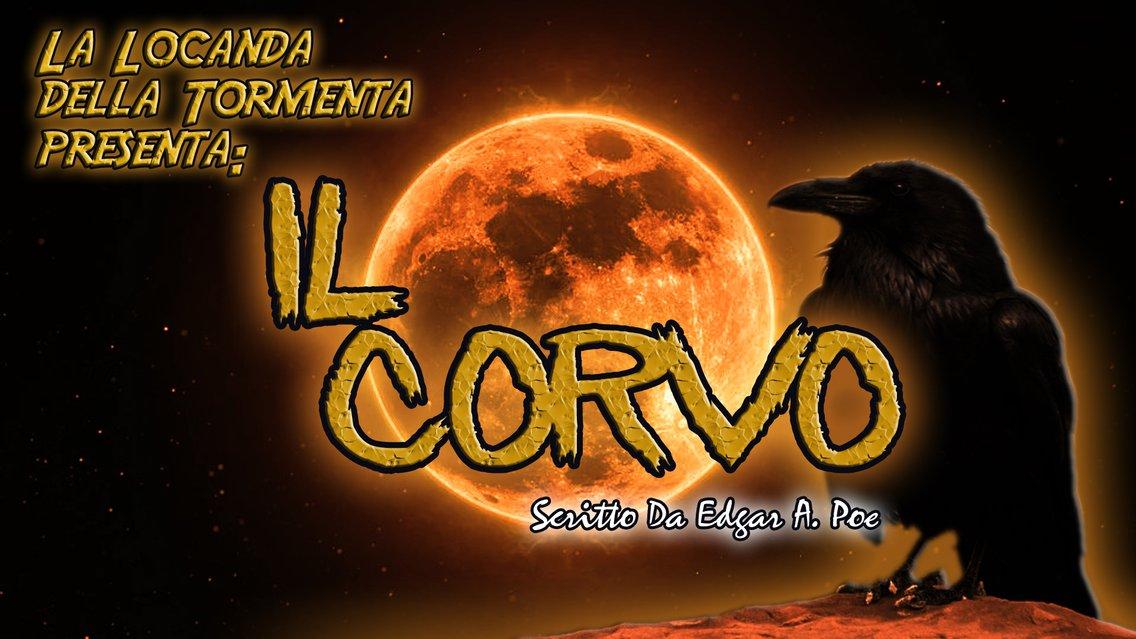 Audiolibro Il Corvo E.A.Poe - immagine di copertina