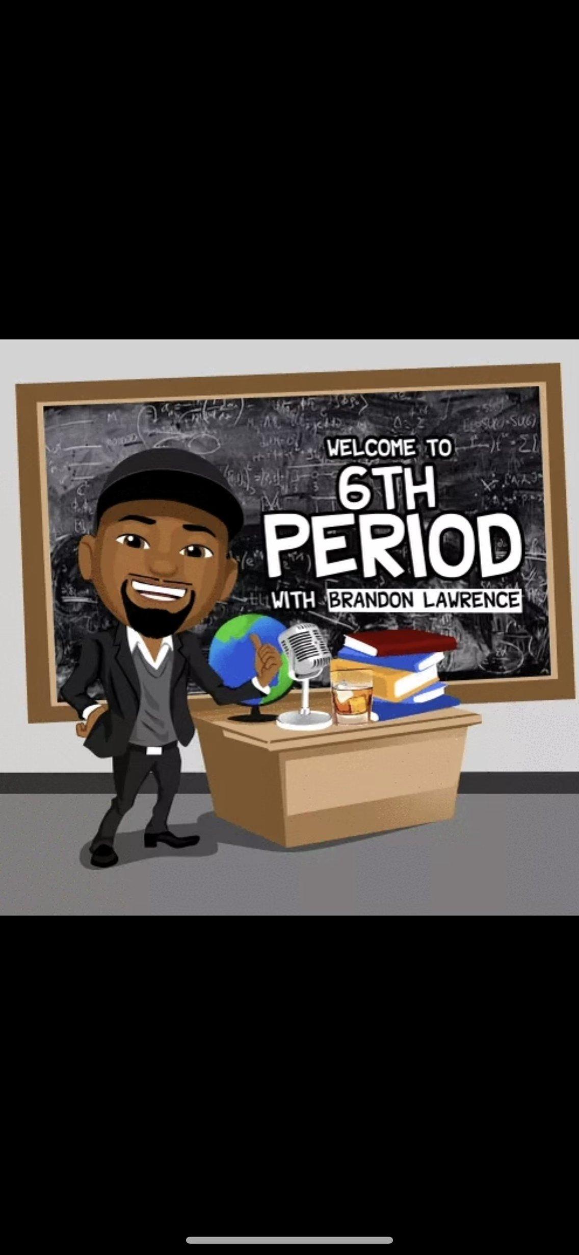 6th Period w/ Brandon Lawrence - imagen de portada
