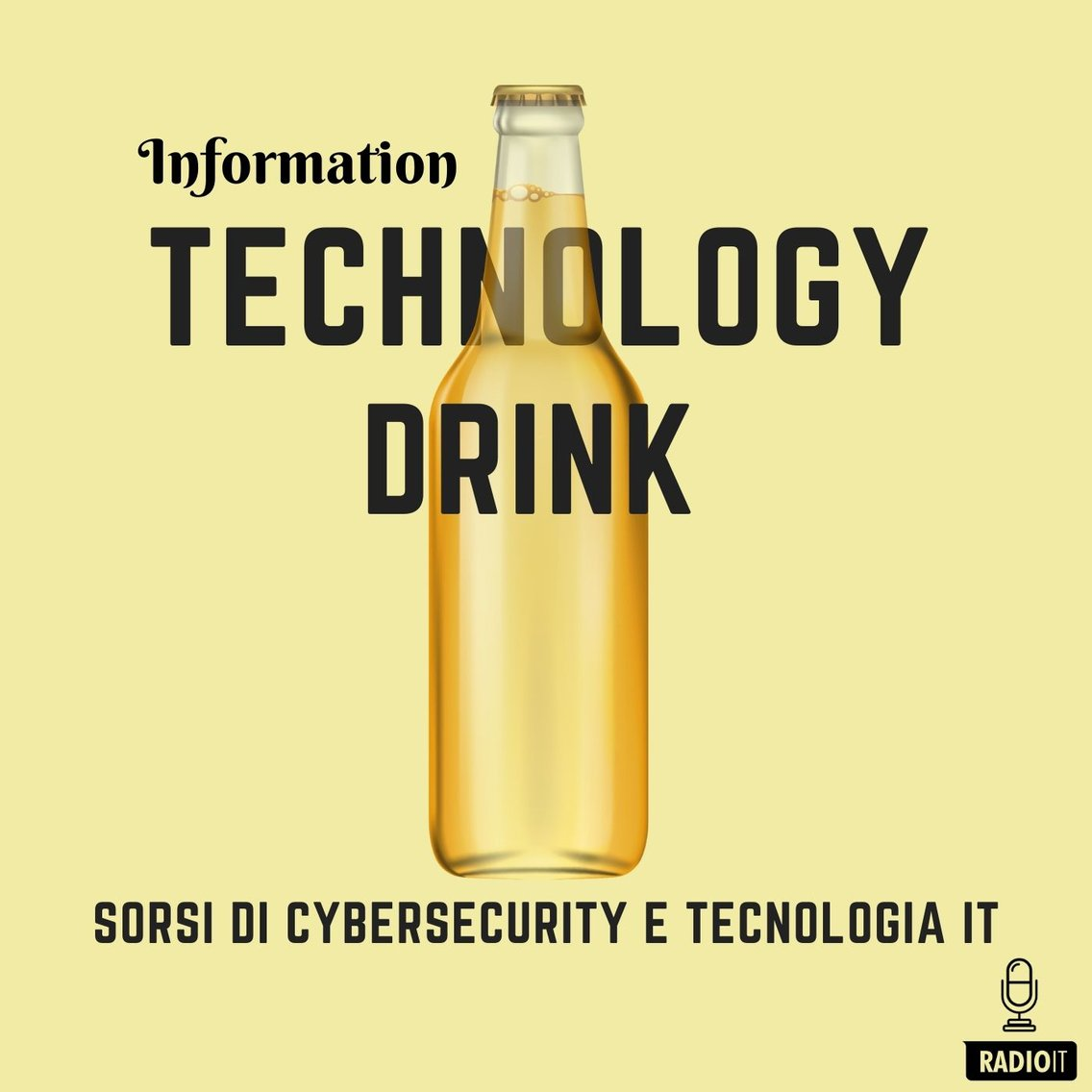 Information Technology Drink - Cover Image