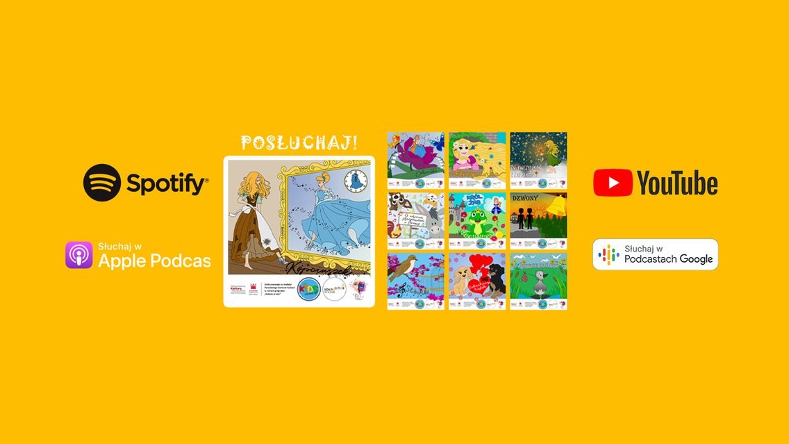 Soundsitive Kids - bajki dla dzieci - immagine di copertina
