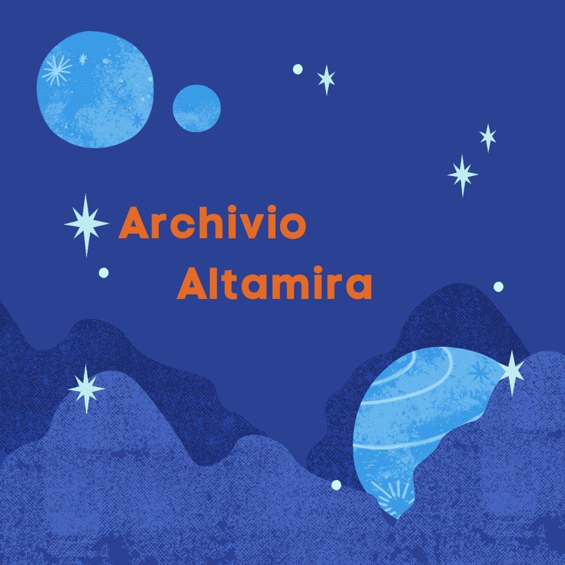 Archivio Altamira. Storia nello spazio - Cover Image
