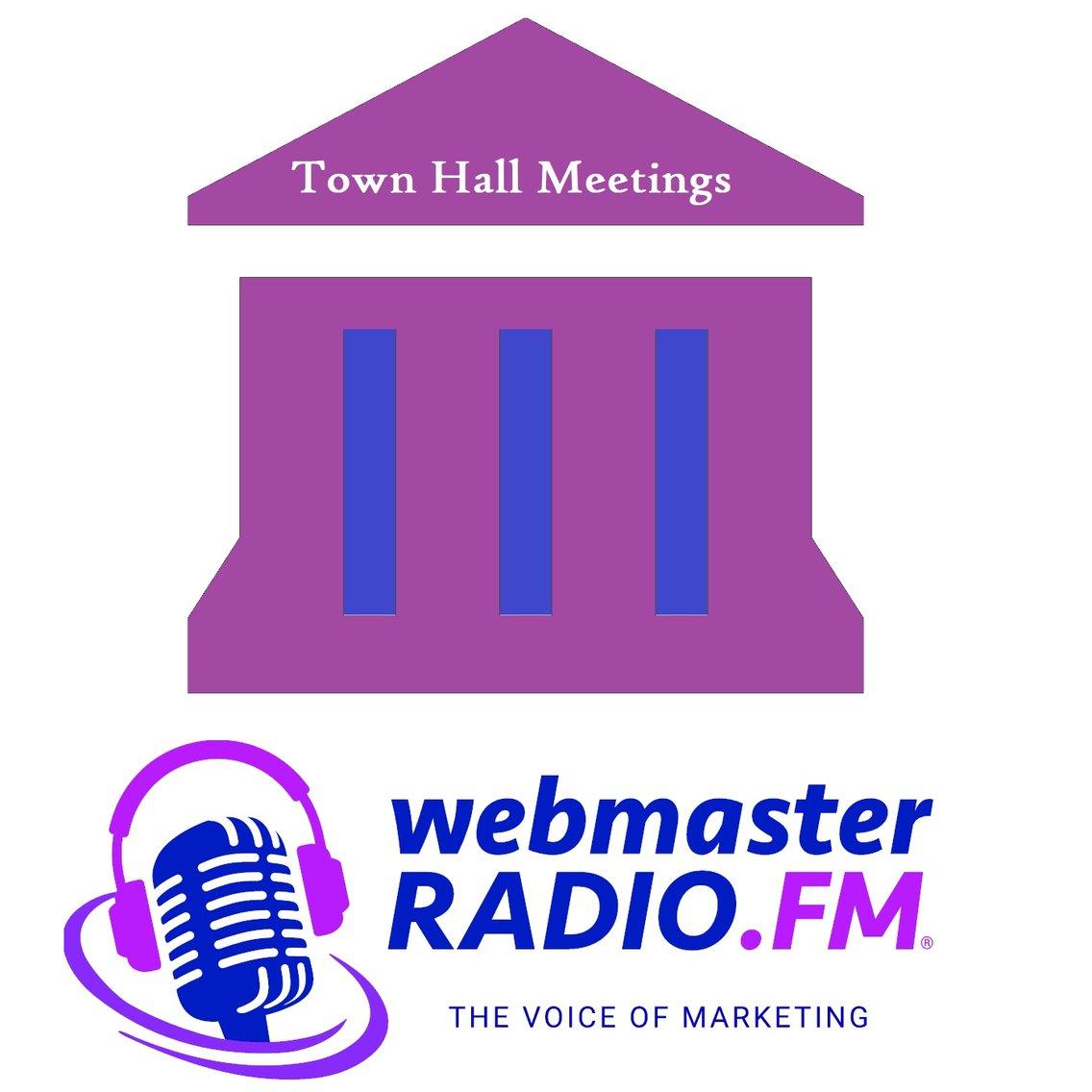 WebmasterRadio.FM Town Hall Meetings - imagen de portada