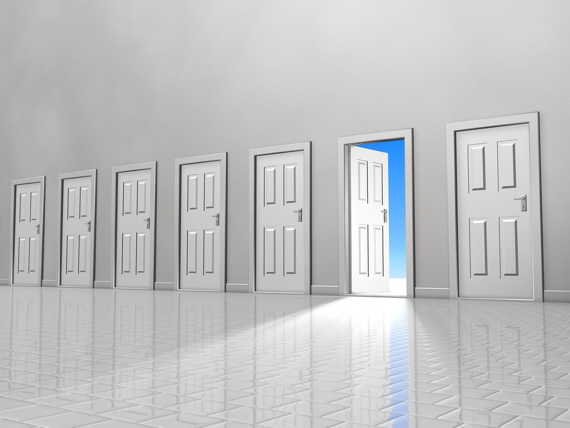 New Life Open Doors - Cover Image