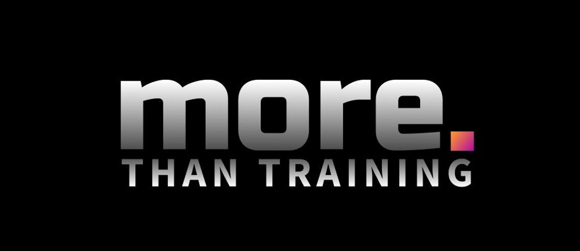 more. than training - imagen de portada